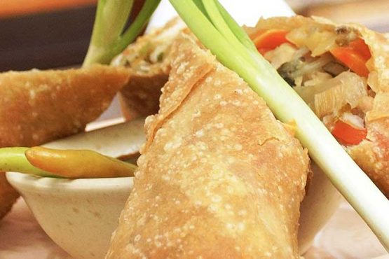 Thai Spring Rolls, Fish & Prawn Cakes